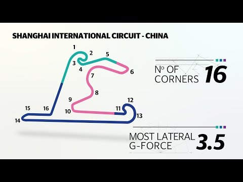 Chinese Grand Prix 2015: Shanghai circuit guide