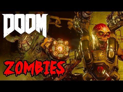 DOOM ZOMBIES LIVE!▐ CoD World at War Custom Zombies Map/Mod