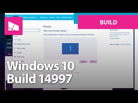 Windows 10 Build 14997 - Set Up, Settings, Personalization, Edge + MORE