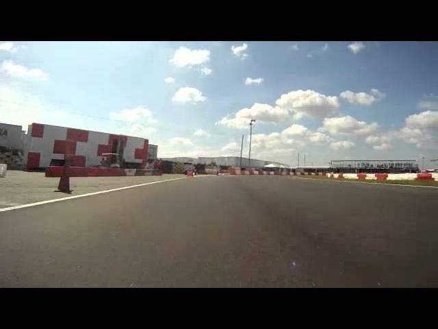 Vicki Brian Racing @ Stock Moto Shifter Kart / Qualifying Lap - Orlando Kart Center 2012 FKCS Race