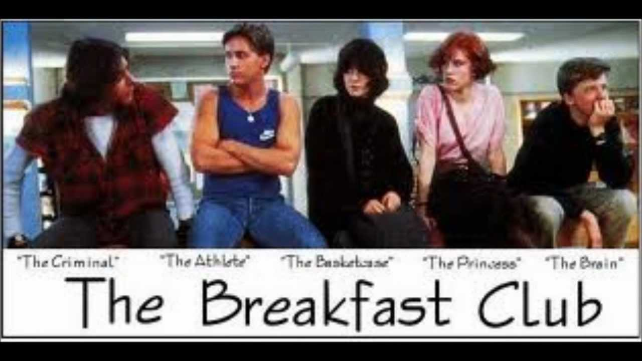"how does the film the breakfast John hughes' second film ""the breakfast club"" has become classic  who are  nearly strangers, but are stuck together in saturday detention."