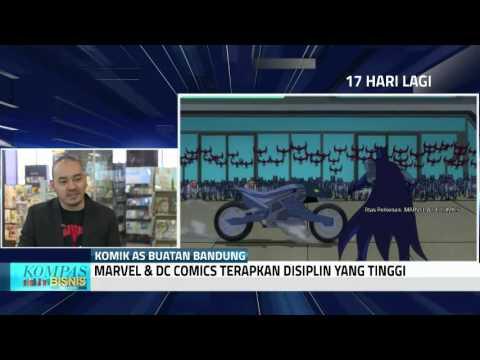 download lagu Orang Bandung Ini Ilustrator Marvel & DC gratis