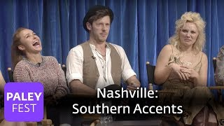Nashville - Sam Palladino, Hayden Panettiere and Clare Bowen on their Southern Accents