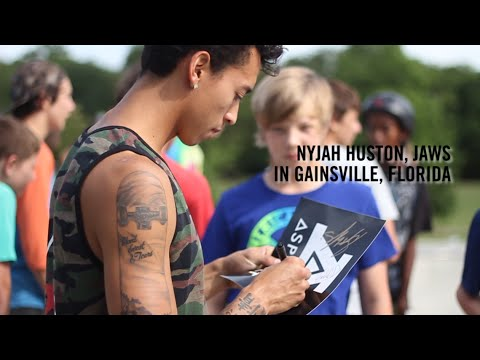 Nyjah Huston, JAWS in Gainesville Florida