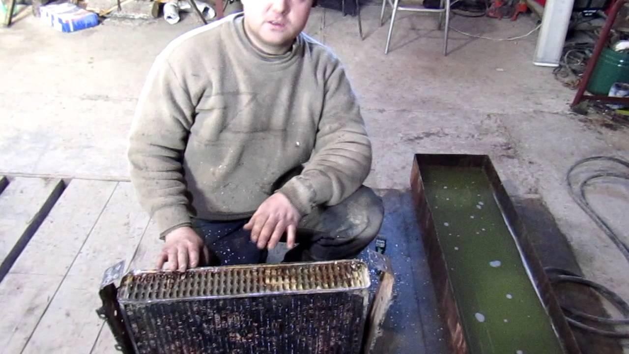 Ремонт радиатора уаз своими руками 46