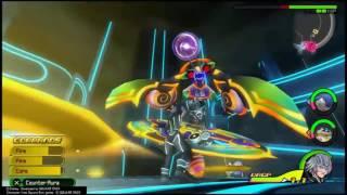 Riku Boss - The Grid - Commantis - Kingdom Hearts Dream Drop Distance HD (PS4)