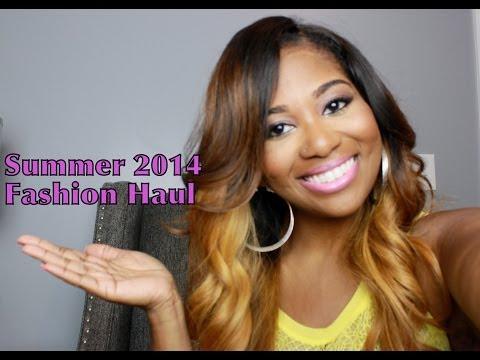 Summer Fashion Haul 2014 | PVC, Swimsuits, Shorts, Crops & More!