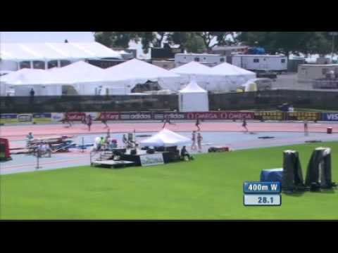 400M Women New York Diamond League 2012