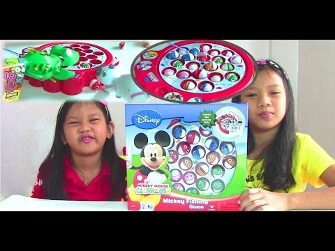 Mickey Mouse Clubhouse Mickey Fishing Game by Playhouse Disney