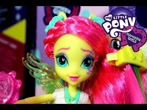 Stylowa Fryzura Fluttershy - Rainbow Rocks - Equestria Girls - My Little Pony - Kraina Zabawek