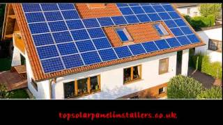Solar panels installation by installers Bury, Rochdale | www.top