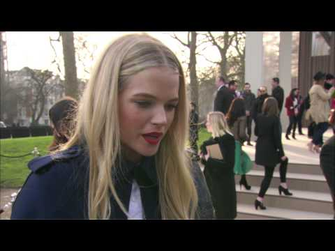 Guests - The Burberry Prorsum Womenswear A/W13 Show