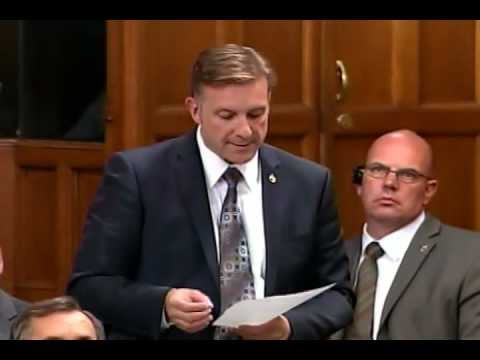 MP Peter Braid - Question Period - Global Eradication of Polio Initiative (GPEI)