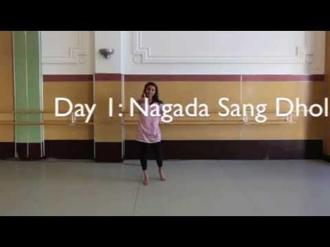 Nagada Sang Dhol - Day 1 [bollywoodtrainer] video