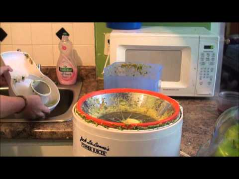 how to clean jack lalanne power juicer without crescent tool