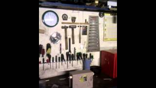 Jacobs Ladder High Voltage Test on a 10KV 35mA Neon Sign Transformer