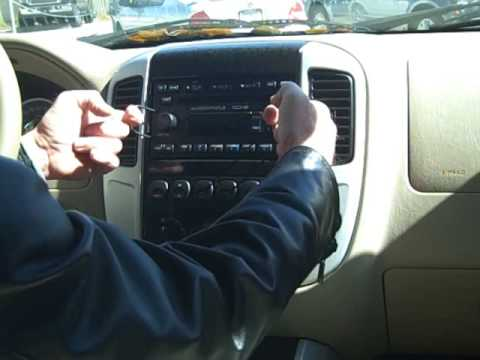 ford mercury car stereo removal repair   youtube
