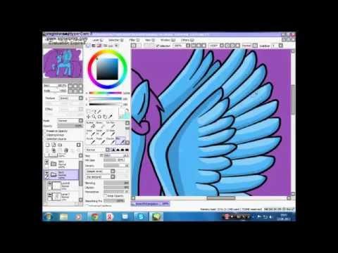 Mlp Speedpaint Rainbow Dash Mlp-princess Rainbow Dash