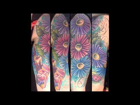 30 Eye Catching Daisy Tattoos