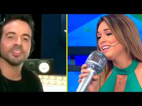 Jazmín Pinedo y Luis Fonsi cantaron 'despacito' y dejaron en shock a todos