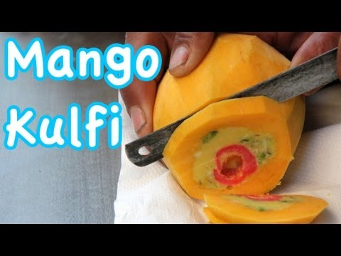 Mango Kulfi - Amazing Indian Ice Cream!