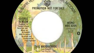 George Benson This Masquerade Promo Single Edit