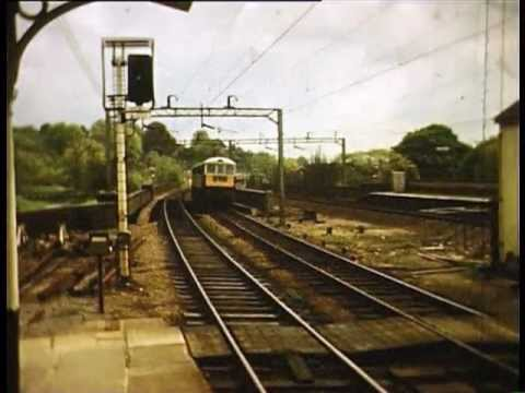 British Railways Diesel &amp; Electric 1960's Euston to Cheddington