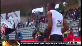 TVC La Tarde- Rolando Palacios también va por el oro en los 200 metros