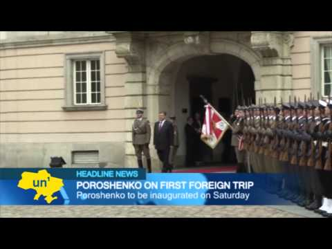 Obama Backs Poroshenko: Ukraine's president-elect meets President Obama in Poland