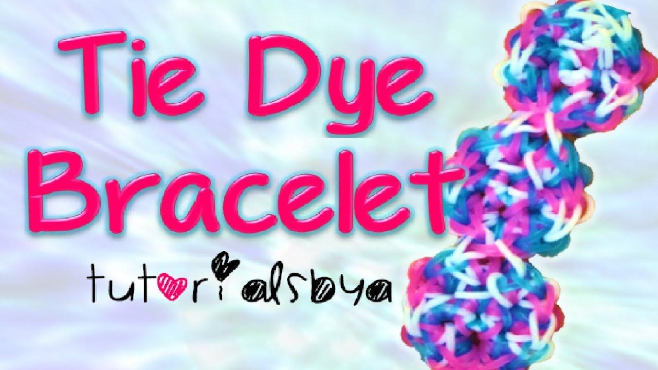 Tie Dye Loom Bracelet New Tie Dye Bracelet Rainbow