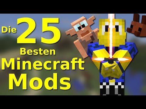 DIE 25 BESTEN Minecraft MODS!!