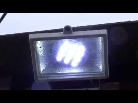 Как сделать своими руками светодиодный прожектор