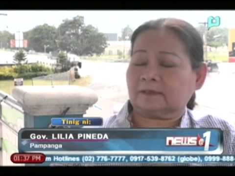 News@1: Pagpapagawa ng 5 dams sa Pampanga at paghukay sa 'river basin', pinag-aaralan
