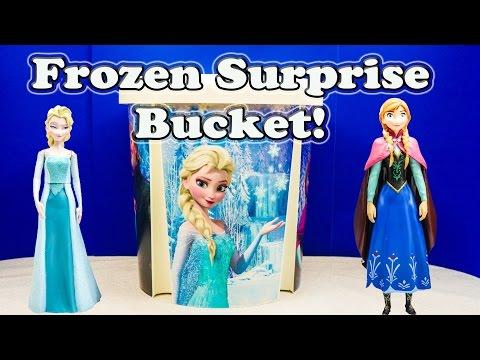 Frozen Disney Frozen Giant Surprise Bucket A Disney Frozen Surprise Video video