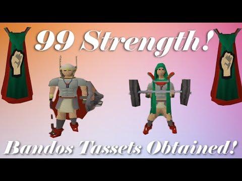 Oldschool Runescape – 99 STRENGTH! + Bandos Tassets!? | 2007 Servers Progress Ep. 102