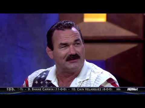 Don Frye talking about Russians. Video