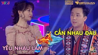 """Vợ chồng Trấn Thành, Hari won Yêu Nhau Lắm, Cắn Nhau Đau!! """"DÌM HÀNG"""" nhau khi tham gia Gameshow"""