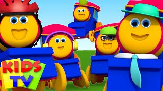 Bob The Train Five Little Babies Nursery Rhymes Baby Rhymes Kids Songs Bob the train  S03EP02