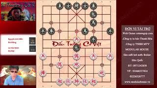 đấu trường cờ việt vòng 6 Tướng cờ tướng Đà Nẵng xung trận NGUYỄN ANH MẪN & LÊ HẢI NINH Ván 2