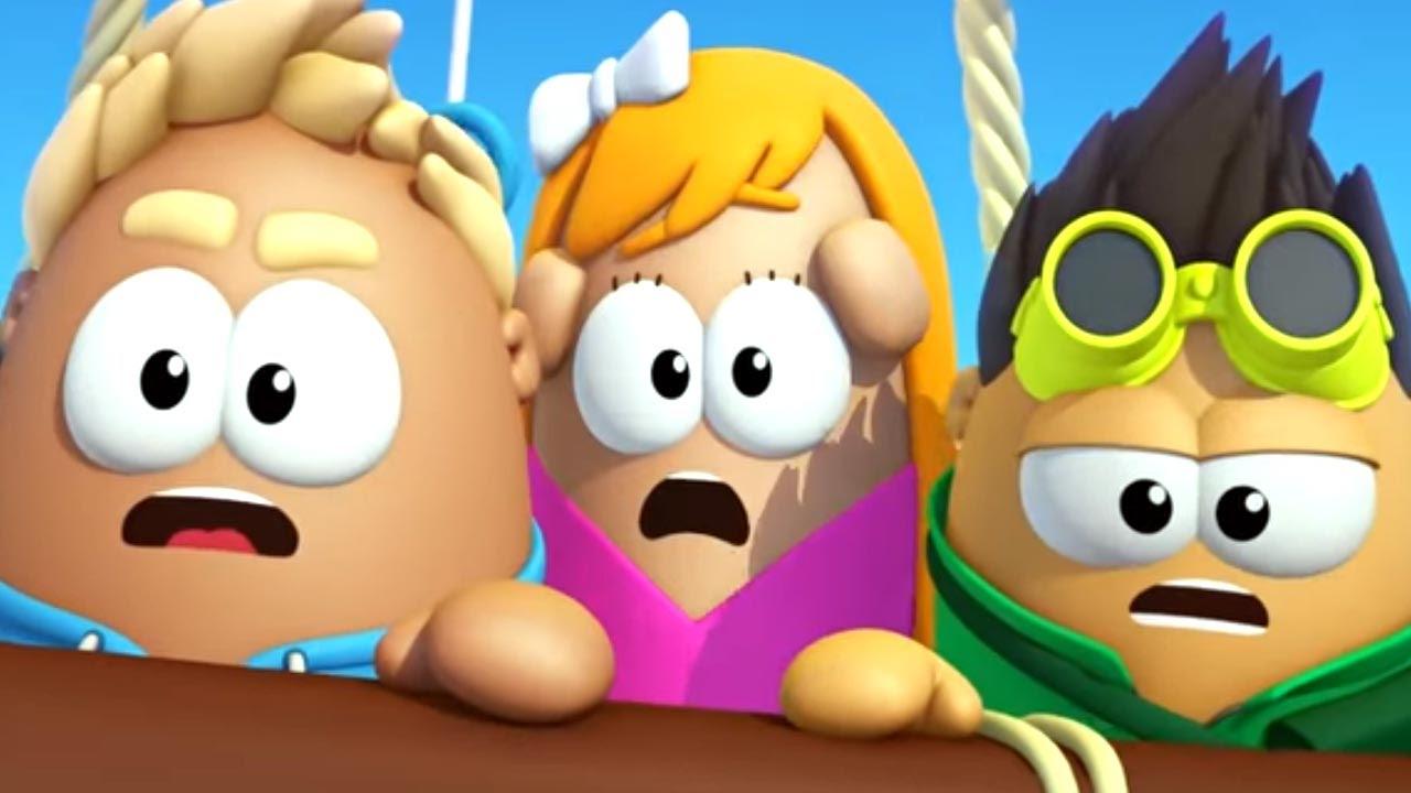 Пузыри Баблс: улётные приключения - Отшельник (4 серия) | Прикольный мультик для детей