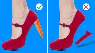 14 CRAZY BUT COOL SHOE HACKS
