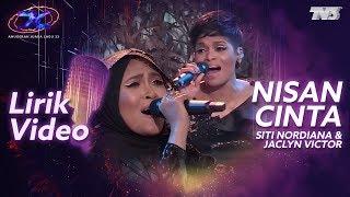 [Lirik Video] Siti Nordiana & Jaclyn Victor - Nisan Cinta | #AJL33
