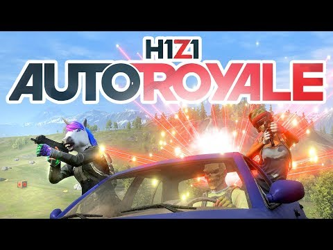 H1Z1 NEW Auto Royale MODE | Best Squad Live Stream Gameplay