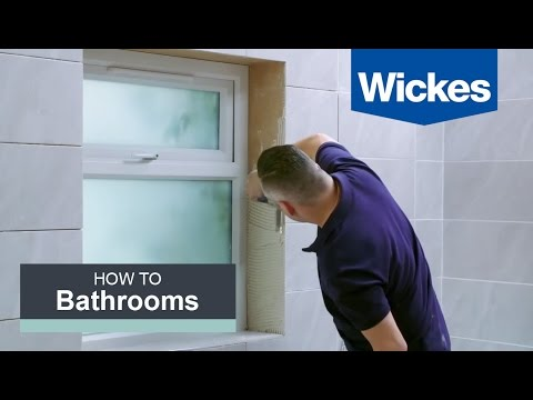How to Tile Around a Window with Wickes