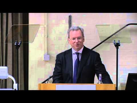 Eric Schmidt: The Future of Identity, Citizenship and Reporting