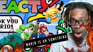 Something About Super Mario World ANIMATED (by TerminalMontage) Reactions!