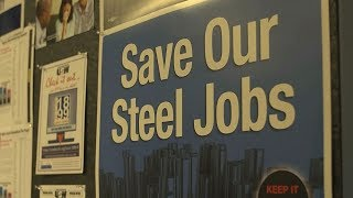 US city celebrates return of steel jobs