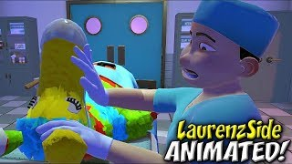 SURGEON SIMULATOR 3D ANIMATION |  Funny Moments Montage (LaurenzSide Animated)