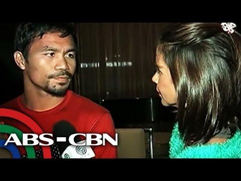 Pacquiao arrives in Macau for Algieri fight