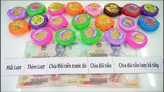 Tìm Tiền Trong Hộp Kẹo HUBBA BUBBA...CƯỜI RỤNG RĂNG(MONEY IN HUBBA BUBBA CANDY)